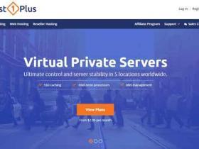 Host1Plus:VPS限时优惠五折到八折 多数据中心 可支付宝付款