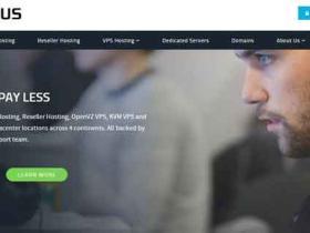 HostUS:$3.48/月 512M内存/15G硬盘/750G流量 洛杉矶/华盛顿/亚特兰大