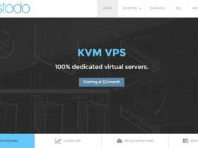 Hostodo:$25/年 1G内存/30G硬盘/1500G月流量 KVM VPS QN机房洛杉矶/达拉斯/迈阿密