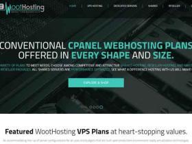 WootHosting:$9.95/年 512M内存 $15/年 1G内存  OpenVZ 免费DDoS保护 QuadraNet洛杉矶/迈阿密