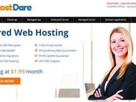 HostDare:$16.25/年 256M内存/7G SSD硬盘/300G流量 洛杉矶CN2 GIA 支付宝付款