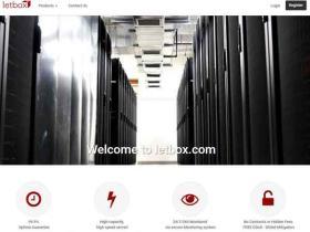 LetBox:$3.5/月 $25/年 1G内存/200G硬盘/2T月流量 KVM VPS 免费DDoS保护 洛杉矶