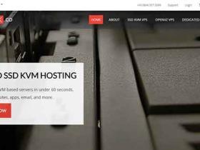 VMBox:终身五折$2.5/月 KVM 512M内存/10G硬盘/1T流量/2 IP/2免费WILDCARD SSL  洛杉矶/荷兰